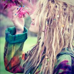 I kind of wish I could pull off having dreads... maybe some day I'll try them!