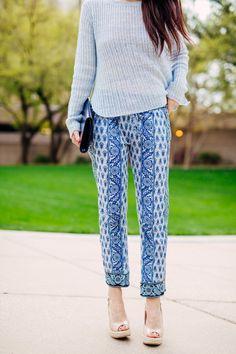 Shades of Blue - Dallas Wardrobe