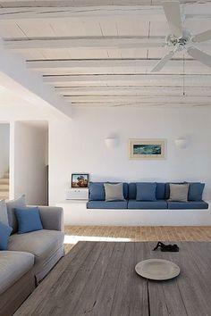 sofá de alvenaria