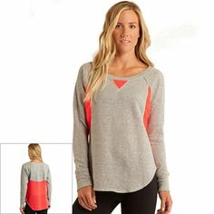 Free Society Colorblock French Terry Pullover - Women's #Kohls
