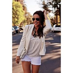 Pretty Little Style Shay Mitchell Illustrates The Wonders of Wearing... ❤ liked on Polyvore featuring shay mitchell, pretty little liars, shay and emily fields