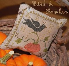 On my to do list.  Nice finish as a little pillow.  This is a free pattern offered by Brenda Garvis @ withthyneedleandthread.blogspot.com
