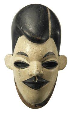 Ibibio mask from Nigeria.