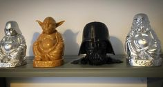 Something we liked from Instagram! Pure Awesomeness #3dprinting #makerbot #starwars #daserwachendermacht #buddha #filament #theforceawakens #abs #pla #filament #3dprinter #shrine by 3dklabouter check us out: http://bit.ly/1KyLetq