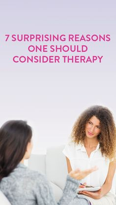 """best quote: """"People with spotless teeth still go to the dentist, so why shouldn't we take our mental health just as seriously?"""" // 7 signs you might need to go to therapy"""