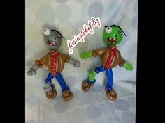 How To Make A Zombie Balloon Like Plants vs Zombies - Balloon Animals Palm Beach - YouTube