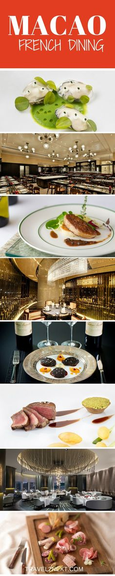 French Dining in Macao. For a very small slice of land, Macao has one of the world's most impressive range of Michelin-starred restaurants.
