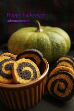「【ハロウィン】 ぐるぐるクッキー」sukemarumon | お菓子・パンのレシピや作り方【corecle*コレクル】