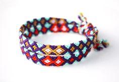 Armband-Set aus geflochtenen Armbändern // bracelet set by Van Rolt via DaWanda.com