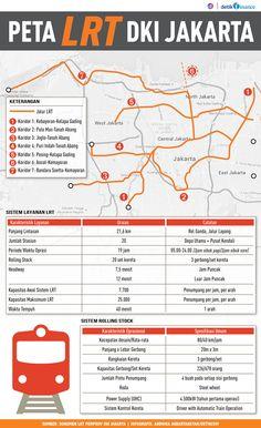 Ini Dia Peta Rute LRT Jakarta Usulan Ahok