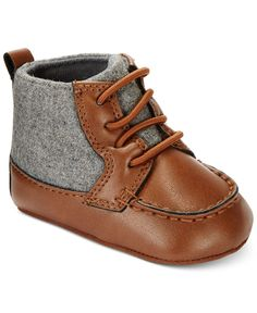 First Impressions Baby Boys Hiker Boots Only at Macys - Baby Boy Shoes - Ideas of Baby Boy Shoes Baby Boy Shoes, Boys Shoes, Baby Boy Outfits, Kids Outfits, Baby Pants, Little Boy Fashion, Baby Boy Fashion, Kids Fashion, Fashion Clothes