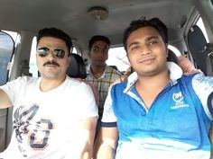 Having ride  fun with friends