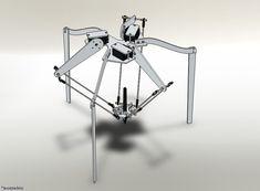 aaronbot3000: Pythagoras: Drawing Delta Robot