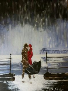 Pioggia al mare