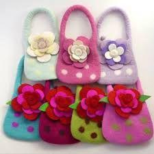 Resultado de imagen para felt purses