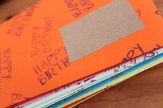 Geburtstagsumschläge