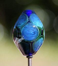 Portals Handmade Lampworked Glass Bead OOAK Focal door ninaeagle