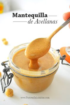 Postres Saludables   Mantequilla de Avellanas casera y en 10 min   http://www.postressaludables.com