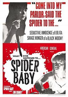 Spider Baby or, The Maddest Story Ever Told posters for sale online. Buy Spider Baby or, The Maddest Story Ever Told movie posters from Movie Poster Shop. We're your movie poster source for new releases and vintage movie posters. Horror Movie Posters, Horror Films, Browning, Jack Hill, Science Fiction, Spider Baby, Lon Chaney Jr, Baby Movie, Baby Posters