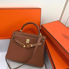 df3716c0df5b Another one Camel Gold Hermes Kelly original leather version