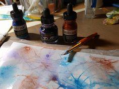 Art Journaling Prompts with Mixed Media Inspiration cards Art Journal Backgrounds, Art Journal Pages, Journal Prompts, Art Journaling, Inspiration Cards, Creative Inspiration, Spray Paint Art, Recycled Art, Handmade Art