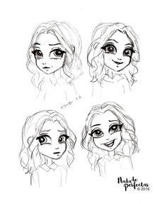 Bocetos sobre #SoyLuna Cómics!  Ámbar, conocida como la reina de la pista!  Hace un tiempo atrás estuve estudiando sobre este personaje, para armar los cómics, traté de describirla en cuatro poses… ¿Descubrirías cuáles son? #soylunacomics...