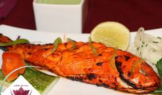 TANDOORI RED SNAPPER ... Aagman Indian Restaurant