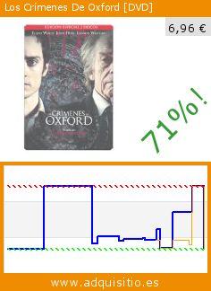 Los Crímenes De Oxford [DVD] (DVD). Baja 71%! Precio actual 6,96 €, el precio anterior fue de 24,35 €. http://www.adquisitio.es/warner-bros-ent-espa%C3%B1a-sl/crimenes-oxford-edesp