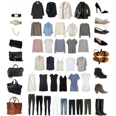 """50 Item Capsule Wardrobe"" by keelyhenesey on Polyvore"