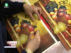 Decoupage, Chicken, Youtube, Canvas Art, French Art, French Tips, Facades, Blue Prints, Flowers