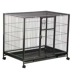 Yaheetech Folding Cat Cage/ Dog Crate -- Additional details at the pin image, click it : Dog kennels