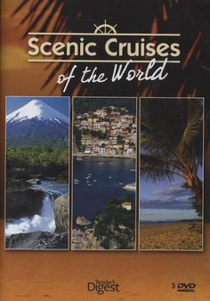 Scenic Cruises of the World takes you to the Majestic Americas, Romantic Europe and Exotic Lands. #cruises #cruising #dvd