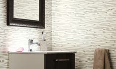 Tarkett omogen Aquarelle Wall HFS-11 Lilacs, Blinds, Curtains, Flooring, Wall, Design, Home Decor, Decoration Home, Room Decor