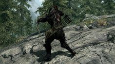 The 50 best Skyrim mods -Belt Fastened Quivers