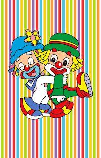 KIT FESTA PRONTA GRÁTIS PATATI PATATA Circus Clown, Circus Theme, Circus Party, Circus Cakes, Clown Party, Cute Clown, 2 Colours, Diy And Crafts, Clip Art