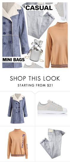 """""""So Cute: Mini Bags"""" by pokadoll ❤ liked on Polyvore featuring adidas, AG Adriano Goldschmied and Hedi Slimane"""