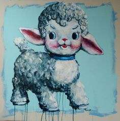 Still life with squeaky lamb x seabastion toast Still Life, Lamb, Plush, Toast, Paintings, Fictional Characters, Paint, Painting Art, Painting