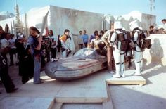 """""""These are not the droids you're looking for"""" with Anthony Forrest, Mark Hamill, Alec Guinnes and Anthony Daniels (ANH)"""
