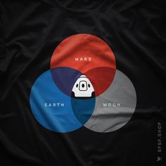 The RGB Space #Dragon #SpaceX #Nasa #Mars #Space