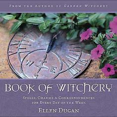 Witchery isn't limited to the sabbats and to the occasional full moon; magick happens every day. In this treasury of enchantments, spells and witchery, popular author Ellen Dugan presents her personal grimoire of magick essentials to keep you happily conjuring seven days a week! Formerly available as 7 Days of Magic, new and advanced material has more than doubled the witchy wisdom within these pages, yet it still fits into a busy Witch's schedule. See more at…