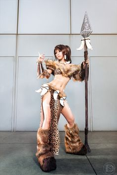 Nidalee from League of Legends – Cosplay: Tasha Cosplay;  Photography By Darshelle Stevens;  Assistance: Smoochie Wallace