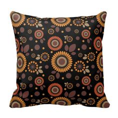 Pattern Berry and flower Pillows