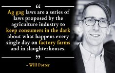 The Animal Legal Defense Fund interviews Will Potter about the importance of journalists and whistleblowers exposing animal abuse.