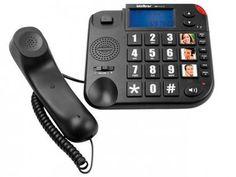 Telefone Com Fio Intelbras Tok Fácil ID - Identificador de Chamada Viva Voz Preto com as melhores condições você encontra no Magazine Ofertassoonline. Confira!