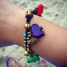 Cute elephant bracelet with bell