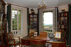 Le bureau de Général de Gaulle à La Boisserie, sa maison.