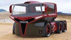 Cool, futuristic truck.