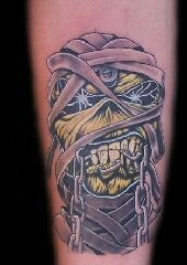 Eddy of Iron Maiden Tattoo