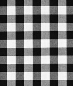 "Shop Robert Kaufman 1"" Black Carolina Gingham Fabric at onlinefabricstore.net for $6.95/ Yard. Best Price & Service."