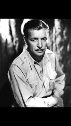 """This is Ronald Colman who's is a fine British actor who brings elegance to every role. My favorite is """"Random Harvest"""" but he is hilarious in """"Talk of the Town"""" with Jean Arthur and Cary Grant and in """"Unlucky Partners"""" with Ginger Rogers."""